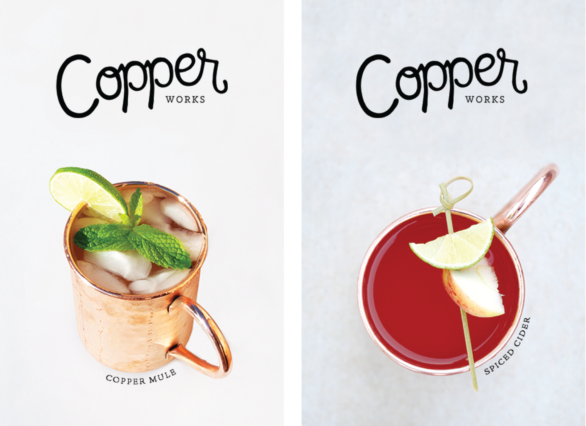 Amarie Design Co. Graphic Design for Copper Works Goods Co.