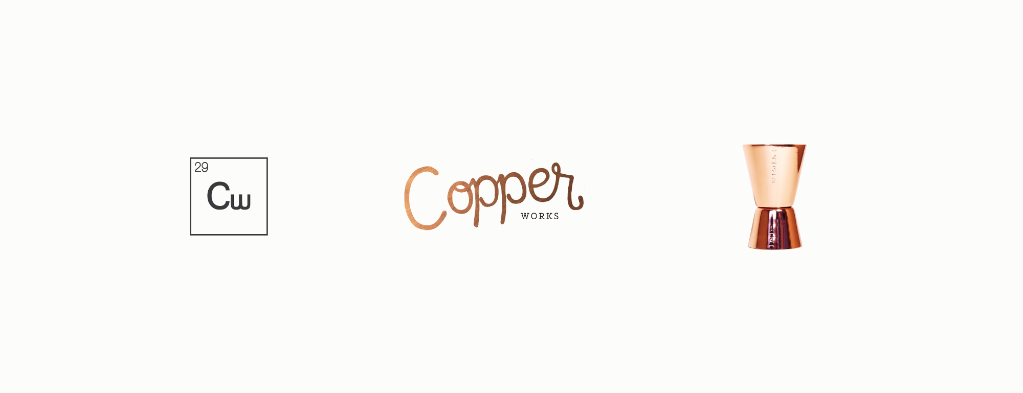 Amarie Design Co. Lifestyle Brand Identity Design for Copper Works Goods Co.
