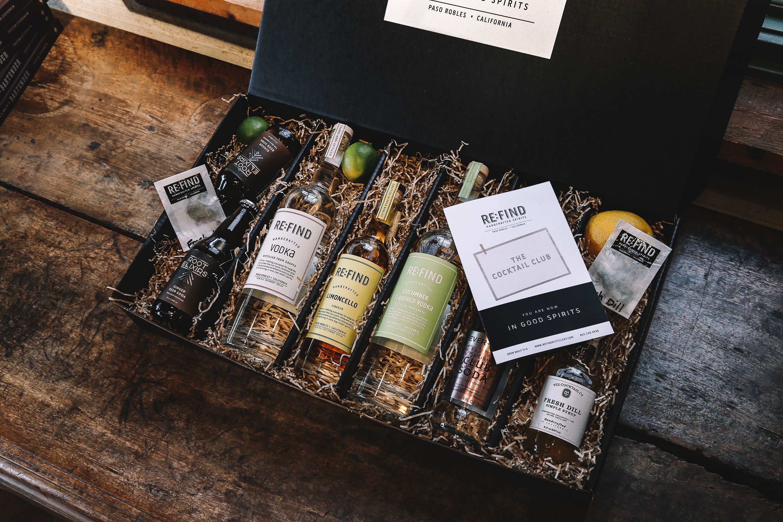 handcrafted spirits cocktail photography