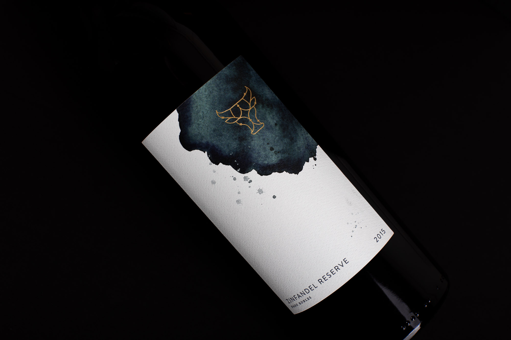 Wine Label Design Paso Robles California for Seven Oxen by Amarie Design Co.